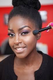 get the look purple wedding makeup creme de la bride