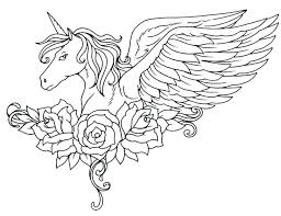 Free Printable Unicorn Coloring Pages For Adults Rainbow Head Modest