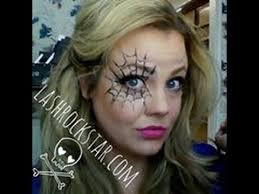 cly easy halloween makeup spider web mask tutorial younique