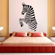 zebra stripes wall decals african wild animals living room wall stickers for kids bedroom vinyl diy art mural train wall decals train wall stickers from