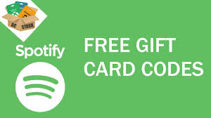 free spotify gift card how to get free spotify gift card codes 2019