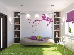 Only Then Cool Ways To Paint Your Room: Green Carpet Flooring White Wall  Paint |