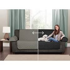 Sofa pet covers Tan Amazoncom Maytex 4970001 Casual Smart Reversible Microfiber Quilted 3piece Furniture Pet Coverprotector Blackgrey Home Kitchen Amazoncom Amazoncom Maytex 4970001 Casual Smart Reversible Microfiber