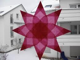 Stern Aus Transparentpapier Weihnachtssterne Sterne Zu