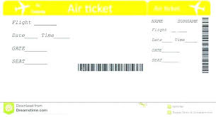 Airline Ticket Template Word Awesome Ticket Layout Template Free Free Blank Airline Ticket Template