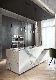 Neolith, the main material in a luxurious apartment in Miami Beach ...