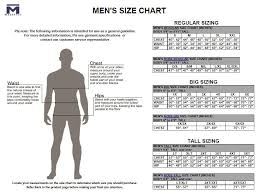Majestic Jacket Size Chart 40 Disclosed Size Chart For Big And Tall