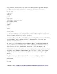 Nurse Resignation Letter Enchanting Application And Resignation Letter Nurse Resume Example Cover