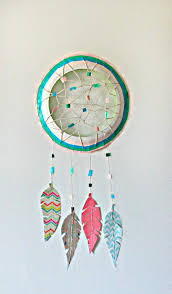 Dream Catcher Party Plates Impressive Paper Plate Dream Catcher Fun Family Crafts