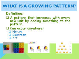 Patterns Definition Custom Repeating And Growing Patterns Ppt Video Online Download