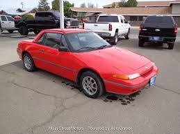 1991 mercury capri at main street motors of enterprise or the dealership has not