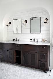bathroom modern vanity designs double curvy set: dazzling design inspiration dark wood bathroom vanity curved front with drawers vanities   sets
