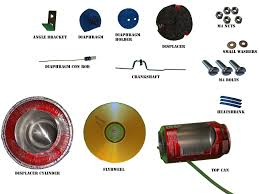 the parts in the kit