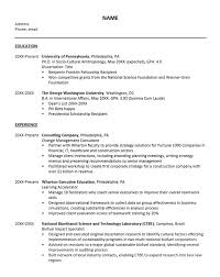 What Is Resume Adorable Career Services Sample Resumes For Graduate Students And Postdocs