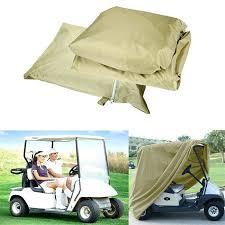 ez go cart cover 4 passenger golf cart cover inch 4 sided rain enclosure cover for ez go cart cover ez go golf cart seat