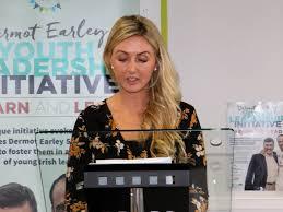 Stacey Cahill, GAA Co-ordinater   The Saffron Gael