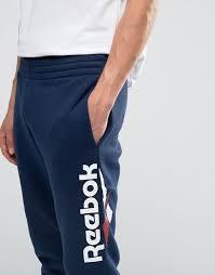 reebok joggers. reebok vector large logo joggers in blue az9530 men,reebok inferno,online