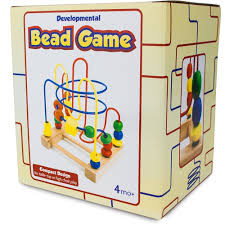 Wooden Bead Game Amazon Developmental Wooden Bead Maze Game by Imagination 31