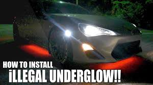 Lights Under Car Illegal Illegal Underglow Lights Install Rice Or Nah