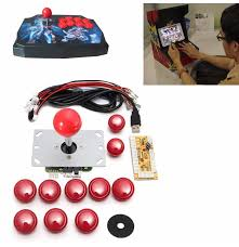 game diy arcade set kits replacement parts usb encoder to pc joystick and ons
