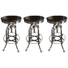 oak tractor seat bar stool dover mason stools restoration hardware vintage toledo front viyet designer furniture