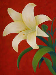 how to paint a lily step by step with photos