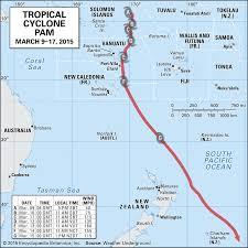 Vanuatu Cyclone Tracking Map (Page 1 ...