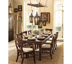 classic dining table with rectangular wooden pottery barn kitchen table ideas pottery barn aaron chair