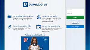 Competent Dukemychart Login Page Duke My Chart Payment Duke