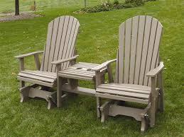 outdoor glider chair set