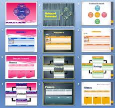 Scorecard Template Balanced Scorecard Templates Download Ready To Use
