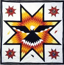 I have one similar. Just not these colors and too lightweight ... & Star Quilt at a Native American Trade. Adamdwight.com