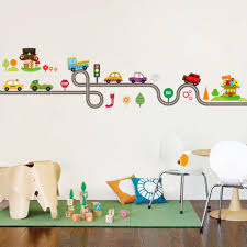 tractors kids wall stickers