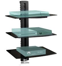 Floating Shelves For Tv Accessories TV Wall Floating Shelf Accessories Components Shelves DVD Player 18