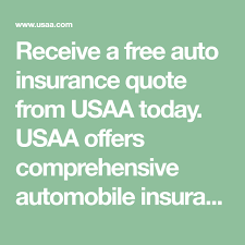 Usaa Insurance Quotes Enchanting Receive A Free Auto Insurance Quote From USAA Today USAA Offers