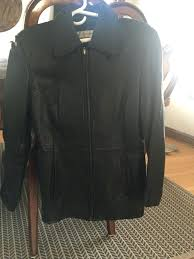 used las small of genuine leather jacket for in jones ny coats new york plus