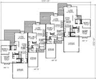 images about Multifamily on Pinterest   Stucco finishes    Fourplex Plans  Big Plans  Floor Plans  Plan   Ft Plan  Floor  Multifamily House Plans  Townhouse Floorplans  Town Houses