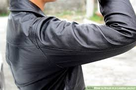 image titled break in a leather jacket step 12