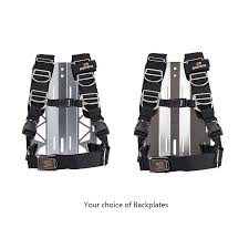Dive Rite Transplate Harness Backplate Combo Backplates