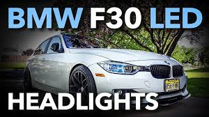 Led Lights For 2013 Bmw 328i Test Bmw F30 Led Headlights What Do You Think Fits 328 320 335 And Most 3 Series
