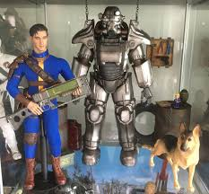 Power Armor Display Stand Science Fiction Fantasy Adventure Fallout Collections 73