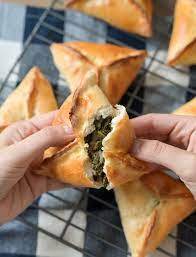 Spinach Fatayer - Simply Lebanese