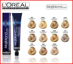 Loreal Richesse Color Chart
