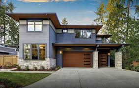 modern garage doors. Faux Wood Modern Garage Doors