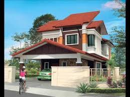 Design Rumah Moden Pelan Rumah Banglo 2 Tingkat Modern Design Rumah House