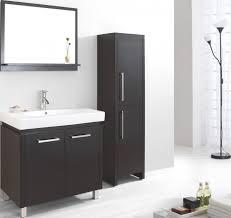 Bathrooms Cabinets : Black Bathroom Storage Cabinet For Behind ...