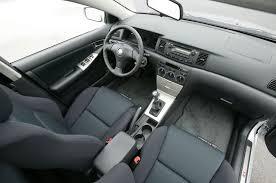 toyota corolla 2005 interior. 2005 toyota corolla xrs 50 interior