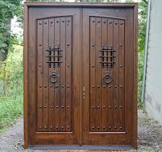 Alder Doors Rustic Exterior Arch Top Doors Speakeasy Door Kit — The ...