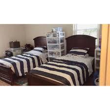 Macys Twin Size Wood Bed Frame