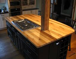 Small Picture Micheles kitchen island is topped with American Gothic reclaimed